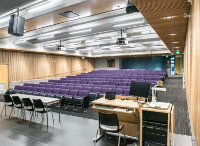 Lecture theatre at the University of the Fraser Valley on the Abbotsford campus.